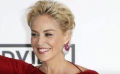 La actriz Sharon Stone mostró su belleza natural
