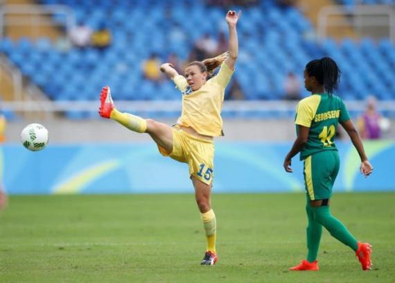 Los JJOO empiezan con triunfo de Suecia ante Sudáfrica