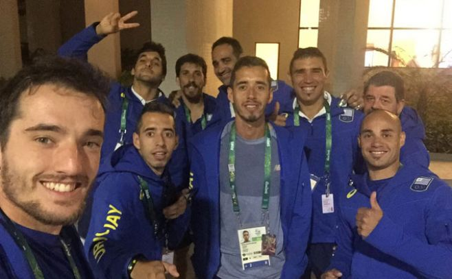 Los uruguayos ya disfrutan en la Villa Olímpica