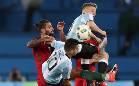 Portugal sorprendió a Argentina en los JJOO