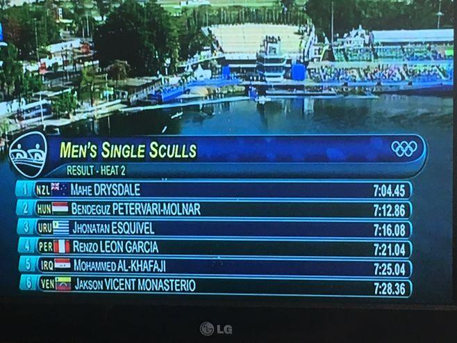 Esquivel clasificó a los cuartos de final en Rio