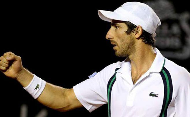 Pablo Cuevas ganó y pasó a segunda ronda