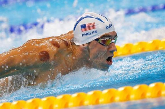 Phelps se toma un respiro