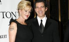 Melanie Griffith y Antonio Banderas: de pareja a amigos