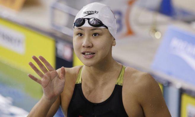 La nadadora china Chen Xinyi da positivo