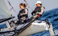 Defazio y Foglia sextos en la décima regata