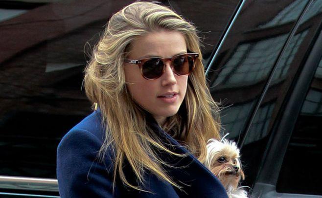 Amber Heard declaró contra Johnny Depp