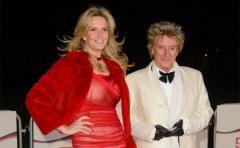 Rod Stewart renueva sus votos matrimoniales en secreto