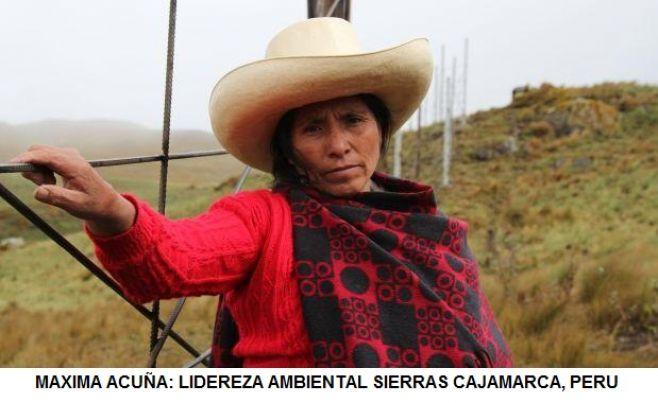 Máxima Acuña de Perú