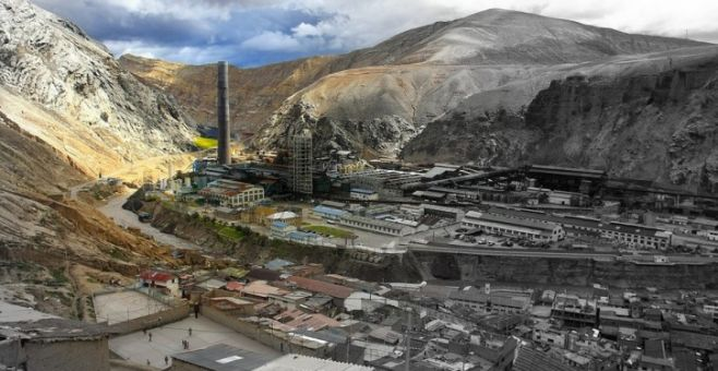 Contaminación minera en Bolivia . ©Radio Pio