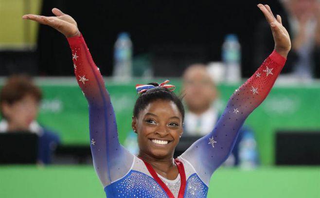 Simone Biles consigue su cuarto oro en Río 2016. EFE