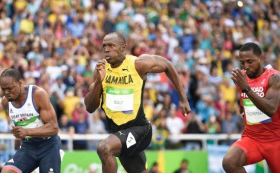 Bolt tiene tiempo para todo