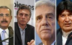 Ranking de popularidad de presidentes latinoamericanos