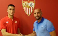 El Sevilla abrocha al exDanubio Cristian González