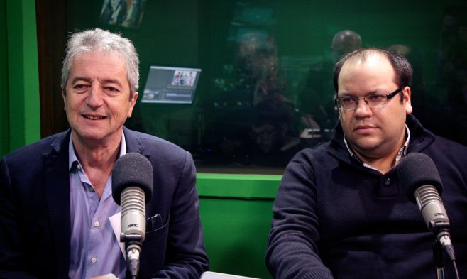Daniel Mazzone y Carlos Álvarez. ©Lucía Varela