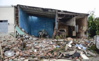 Familias afectadas por tornado en Dolores reciben casas de Mevir