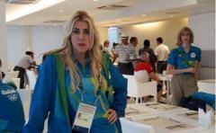 Wendy Calderón fue Jueza referente en los JJOO
