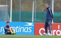 """Bauza dice que Messi """"está bien"""" y no lo descarta"""