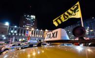 Sindicato del taxi comenzó paro y montó carpa en la IMM