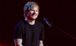 Ed Sheeran cantó con miembro de Snow Patrol en una boda