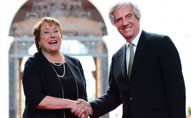 Chile y Uruguay firmarán el TLC el 4 de octubre en Montevideo