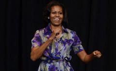 """Michelle Obama: """"La política está en las redes sociales"""""""