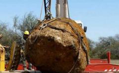 Hallan el segundo meteorito más grande del mundo