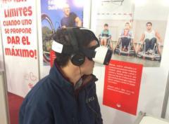 Experiencia de Realidad Virtual en la Expo Prado