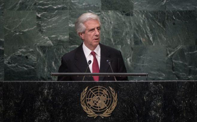 Vázquez recordó en ONU la victoria de Uruguay contra Philip Morris