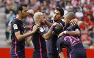 Barcelona golea, Suárez anotó el primero de cinco