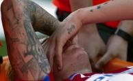 Giménez salió lesionado y peligra su convocatoria