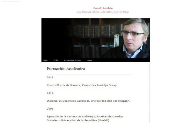 Perfil de WordPress de G. Reboledo