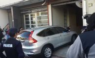 Sendic salió como entró del juzgado: en coche y sin hablar con la prensa