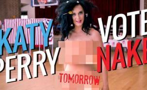 Katy Perry se desnudó por una buena causa