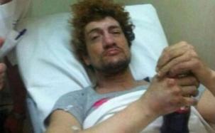 Pity Álvarez se arrojó de un segundo piso y sobrevivió