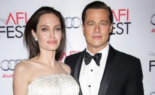 """Brad Pitt y Angelina Jolie vivían """"separados"""" en su casa"""