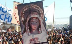 Argentinos inician peregrinación a Luján