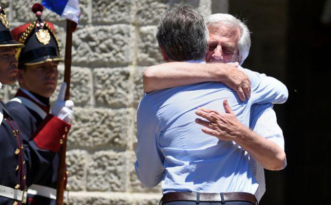 Uruguay y Argentina avanzan para reunión Vázquez-Macri
