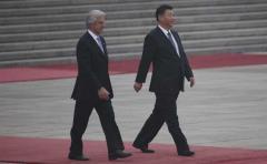 Vázquez acuerda con presidente chino avanzar en un TLC