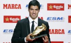 Luis Suárez recibirá este jueves la Bota de Oro