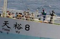 Piratas liberan a 29 marineros chinos secuestrados en 2012