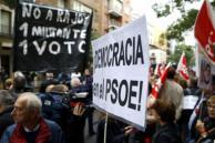 El PSOE se abstuvo de votar la investidura de Rajoy
