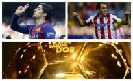 Godín y Suárez nominados al Balón de Oro