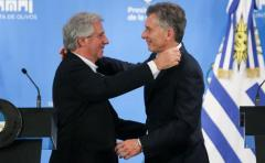 Macri ejerce de buen vecino en el TLC entre Uruguay y China