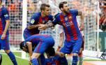 La bronca de Messi con la hinchada de Valencia