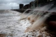 Alerta especial por vientos muy fuertes para la costa