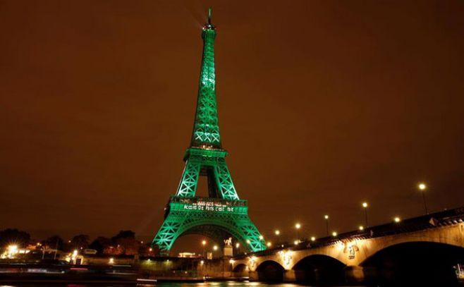 Torre Eiffell verde: entra en vigor acuerdo sobre el clima