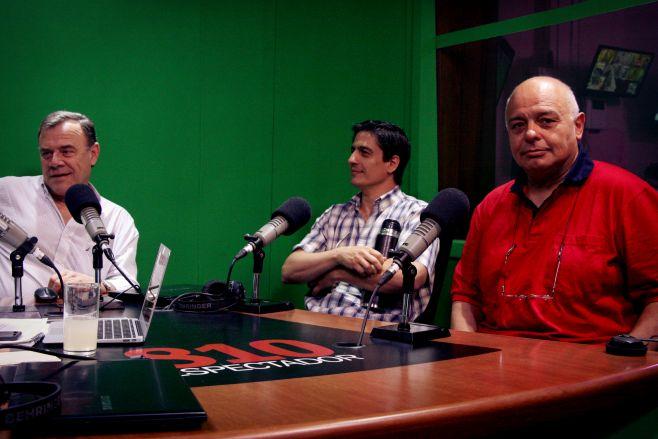 Walter Baetghen, Rafael Terra y Gerardo Honty. ©Lucía Varela