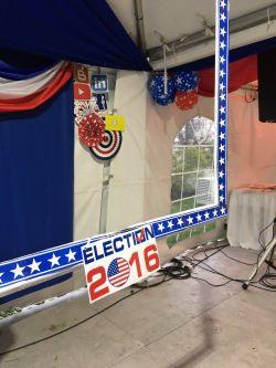 Así se celebraron las elecciones en residencia de la embajadora