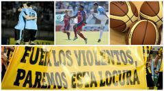 Fútbol uruguayo, eliminatorias y básquet